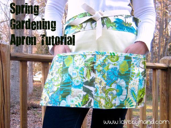 Fresh Spring Gardening Apron Pattern With Images Gardening