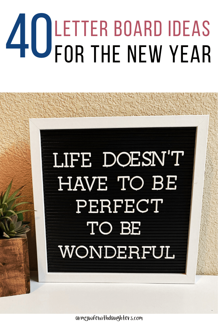 40 Letter Board Ideas For The New Year Message Board Quotes Letter Board Quotes About New Year