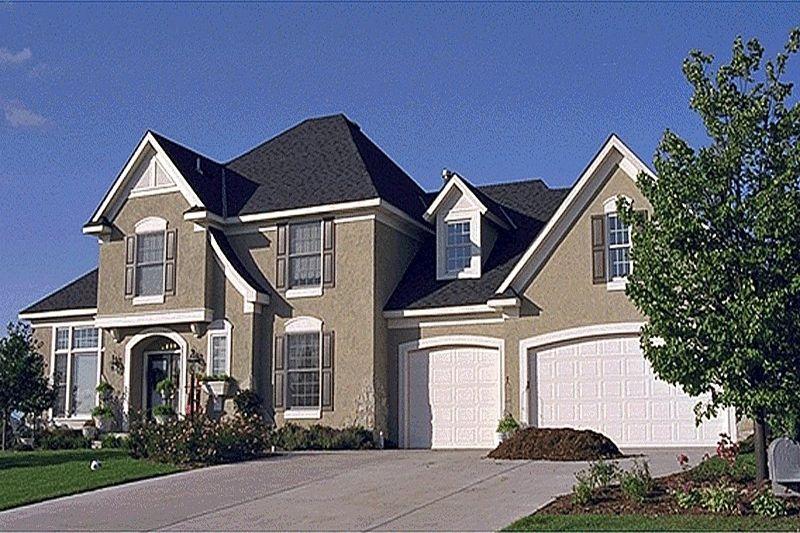 Estilo de casa colonial americano fachadas casa for Fachadas de casas estilo americano