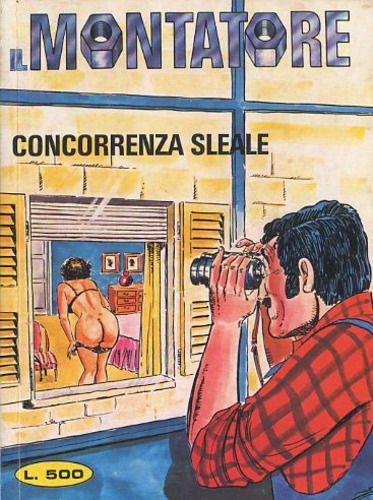 Fumetti PUBLISTRIP, Collana MONTATORE #91