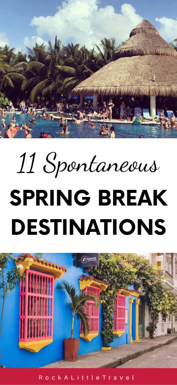 11 spontaneous spring break destinations. Where to travel to for spring break. The best budget friendly spring break ideas. #traveldestinations #springbreak #springbreak2020 #travelhacks #Spring Break Destinations 11 spontaneous spring break destinations