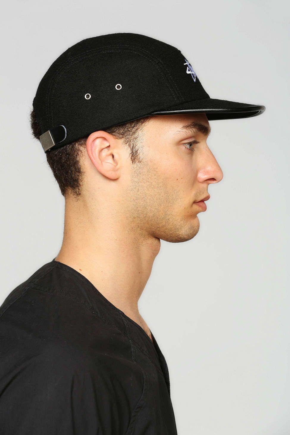 6c31d0699c26fd Stussy Melton Wool 5-Panel Hat | accessories | Hats, 5 panel hat, Stussy