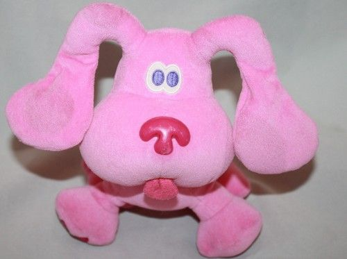 blues clues green puppy plush. Eden Magenta Blues Clues Plush Pink Puppy Dog Stuffed Toy 7\ Green