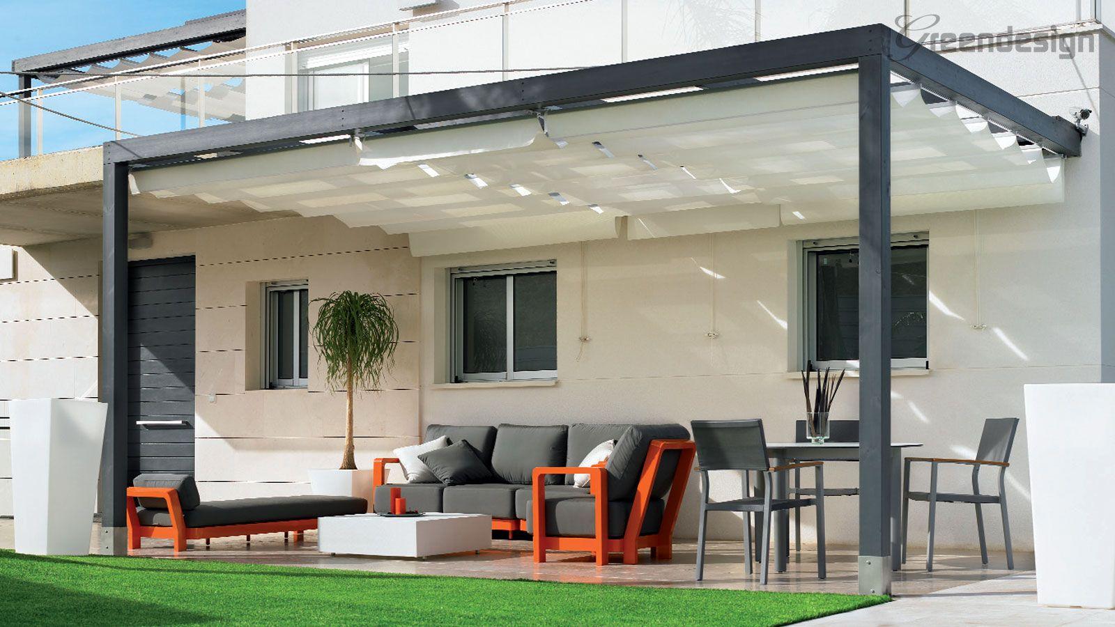 Pergola aluminio buscar con google terraza pinterest - Estructuras de aluminio para terrazas ...
