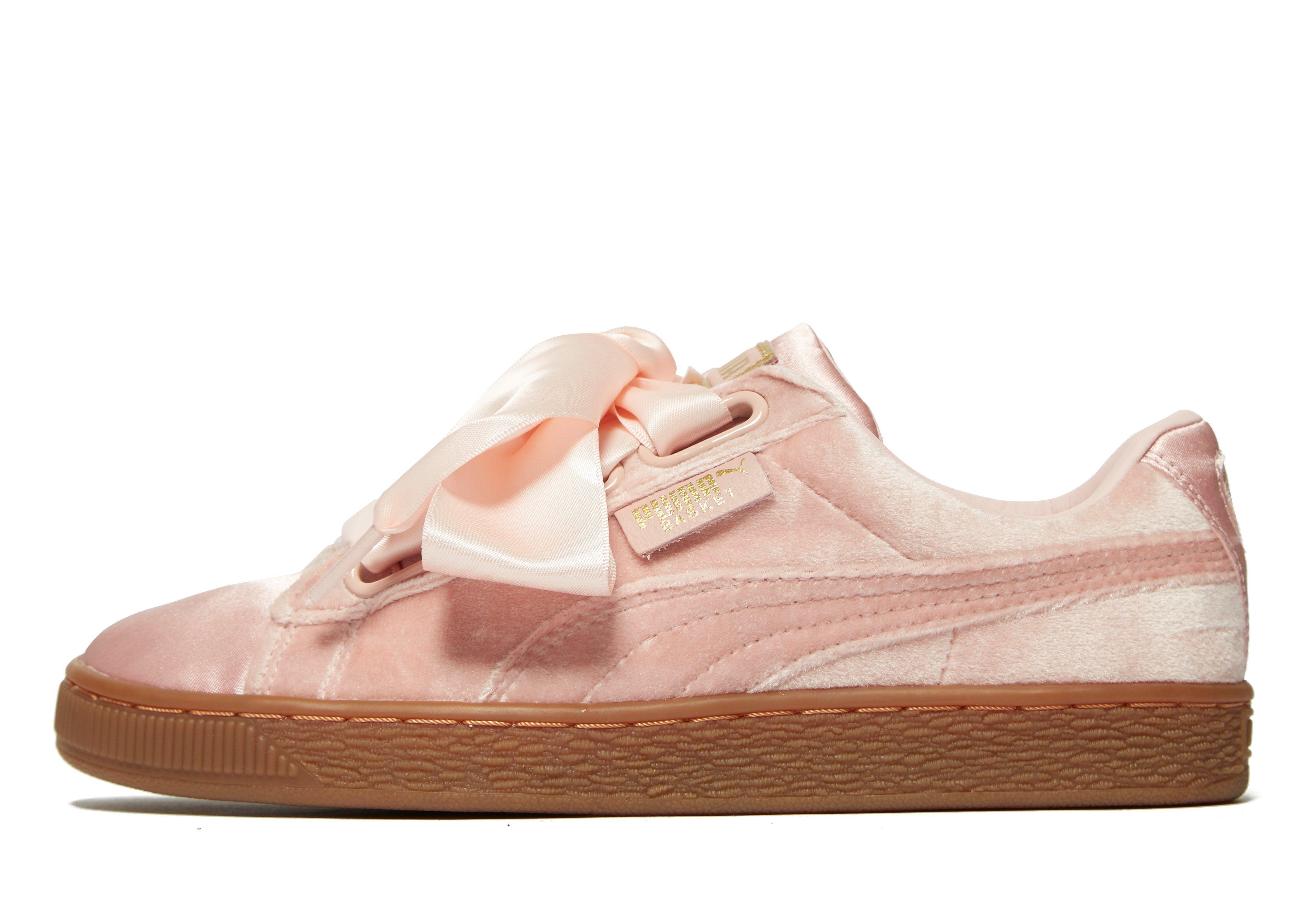 more photos 0345e 7362d PUMA Basket Heart Velvet Women's | shopping - shoes | Puma ...
