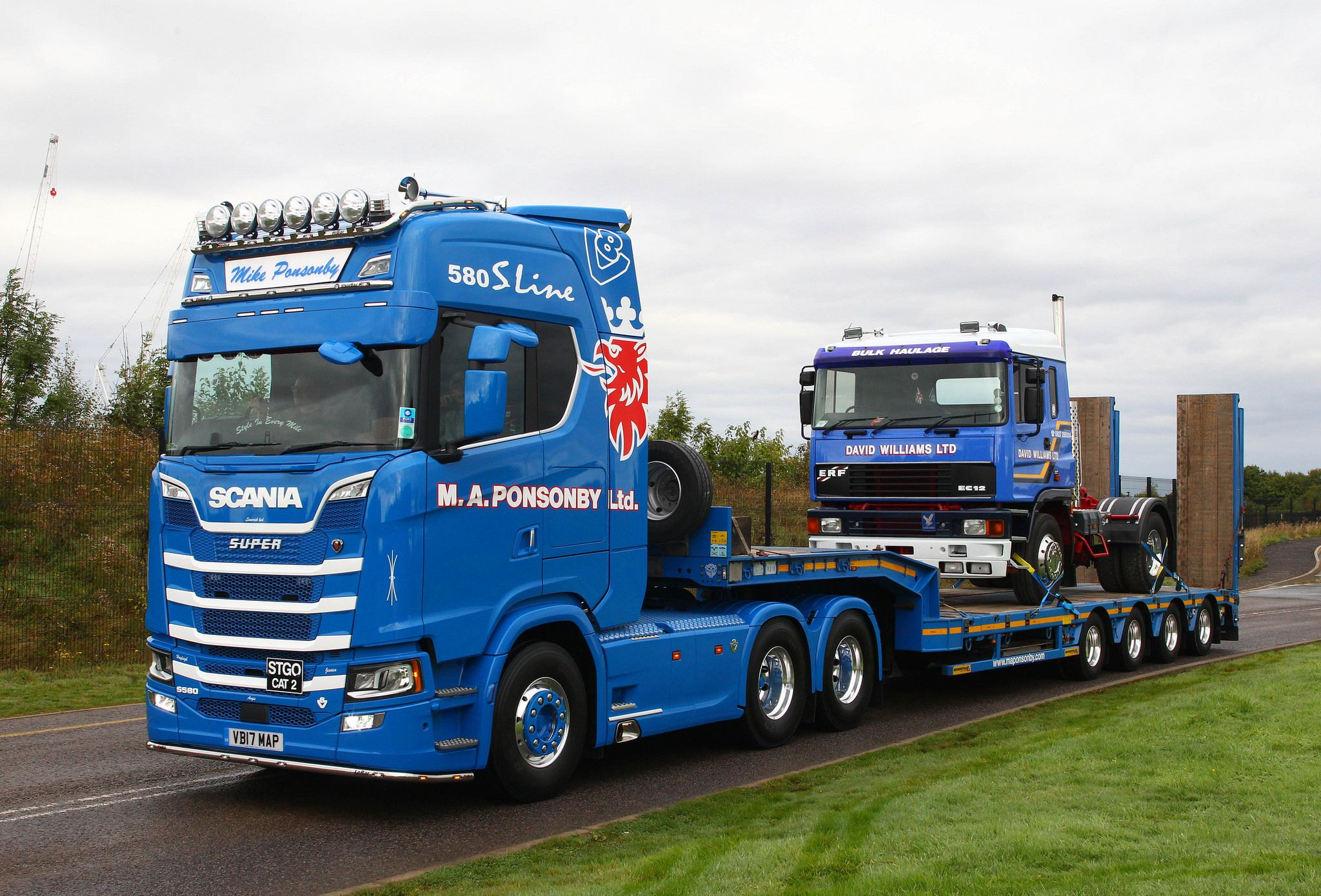 All sizes Scania S580 VB17 MAP Mike Ponsonby Flickr