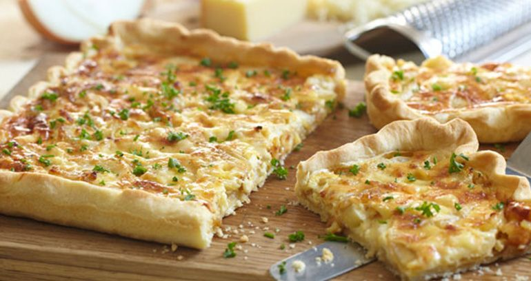 Gruyere, Onion and Fennel Tart Recipe | Jus-Rol (With ...