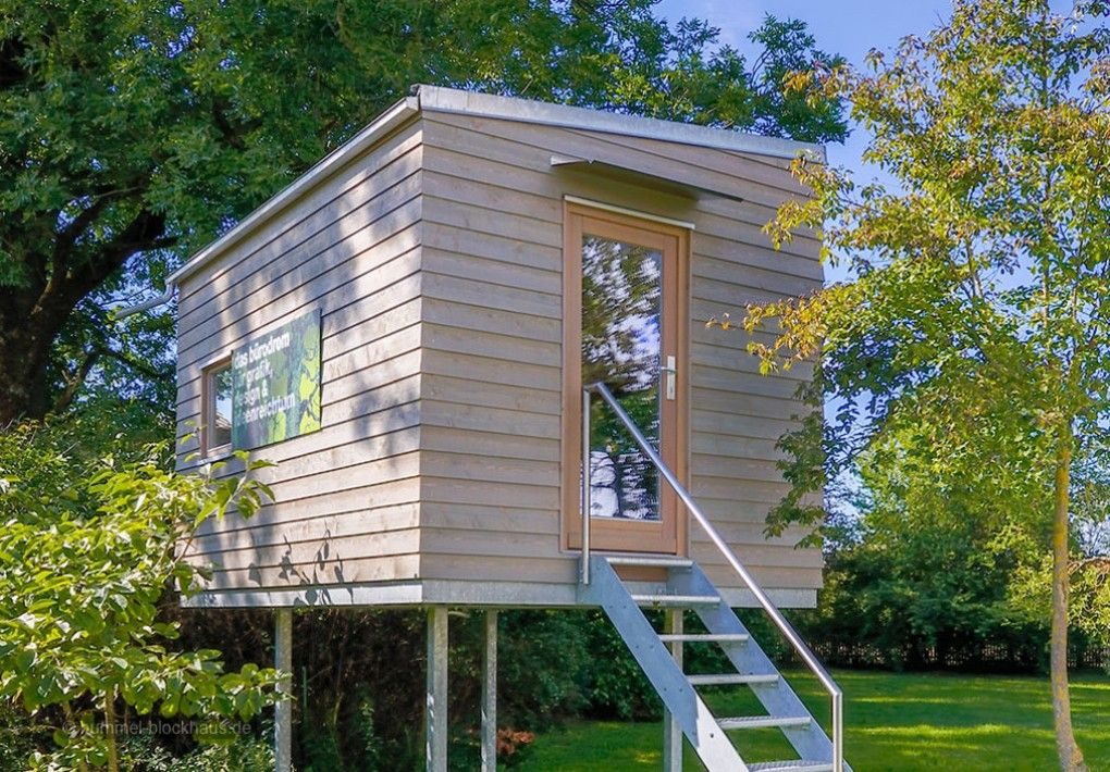 Flexibel wie das Leben Gartenbüro, Gartenhaus, Blockhaus