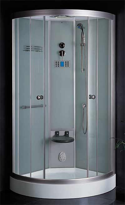 36 X 36 X 90 Steam Shower Enclosure With Hand Shower Control