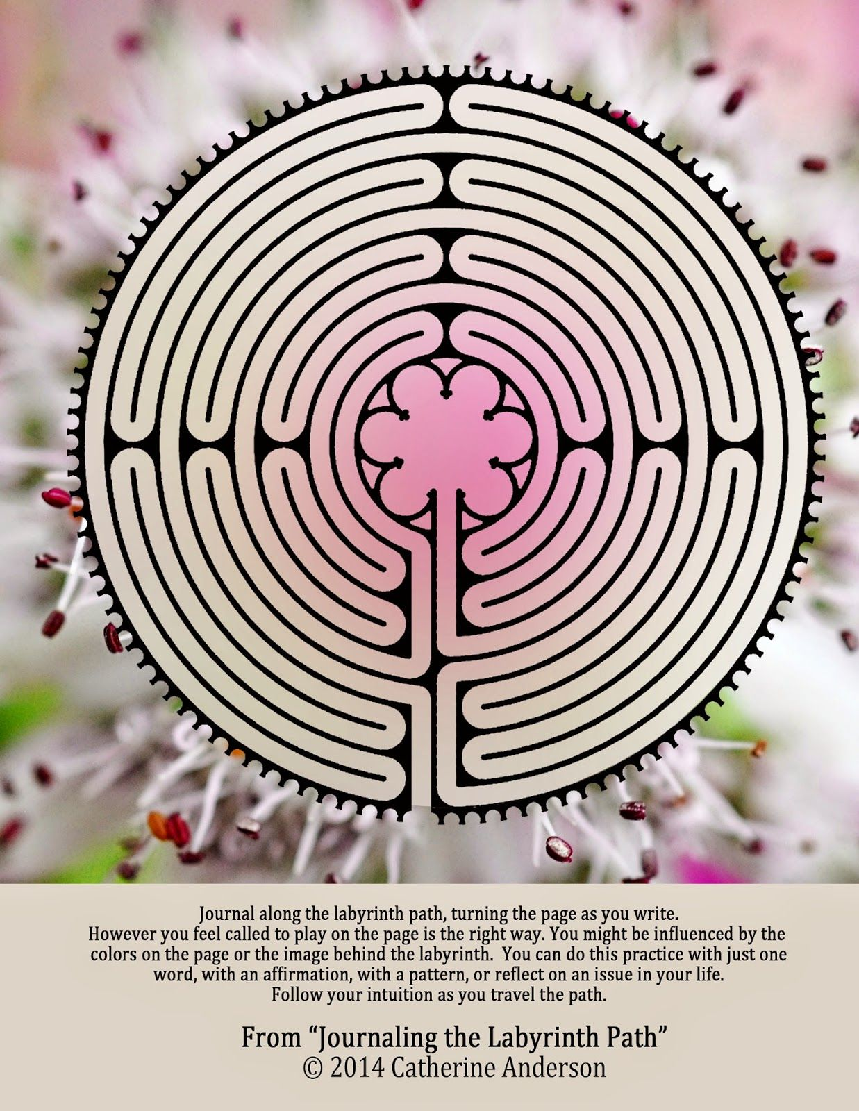 This is a graphic of Gorgeous Finger Labyrinth Printable