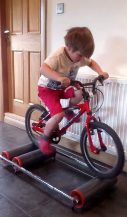Kids Bicycle Rollers Why Not For Adults With A Bike Too Detox