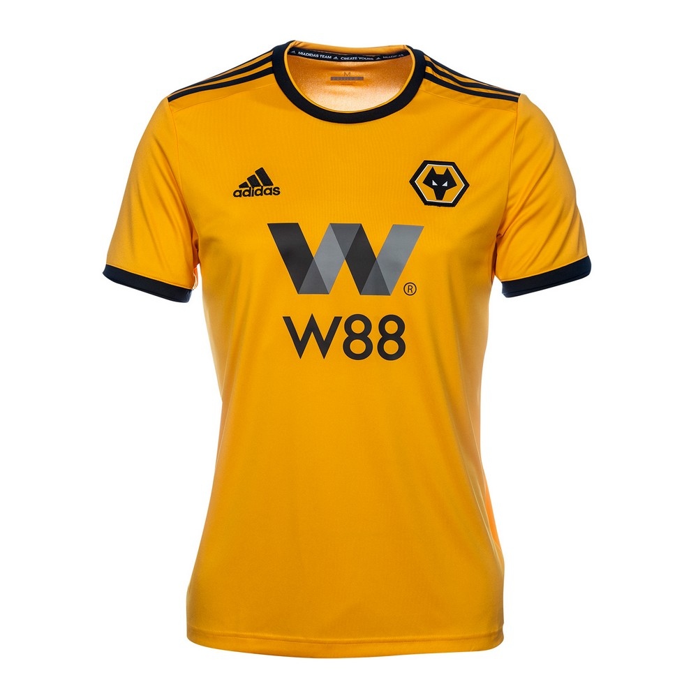3a31c3ca9 Wolves 18 19 Home Men Soccer Jersey Personalized Name and Number