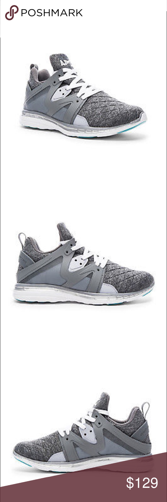 f0b4362a689 NEW APL Athletic Propulsion Lab Shoes Ascend Style  Ascend Color  Cosmic  Grey   Metallic Silver The shoes come with their original box Firm  lululemon ...
