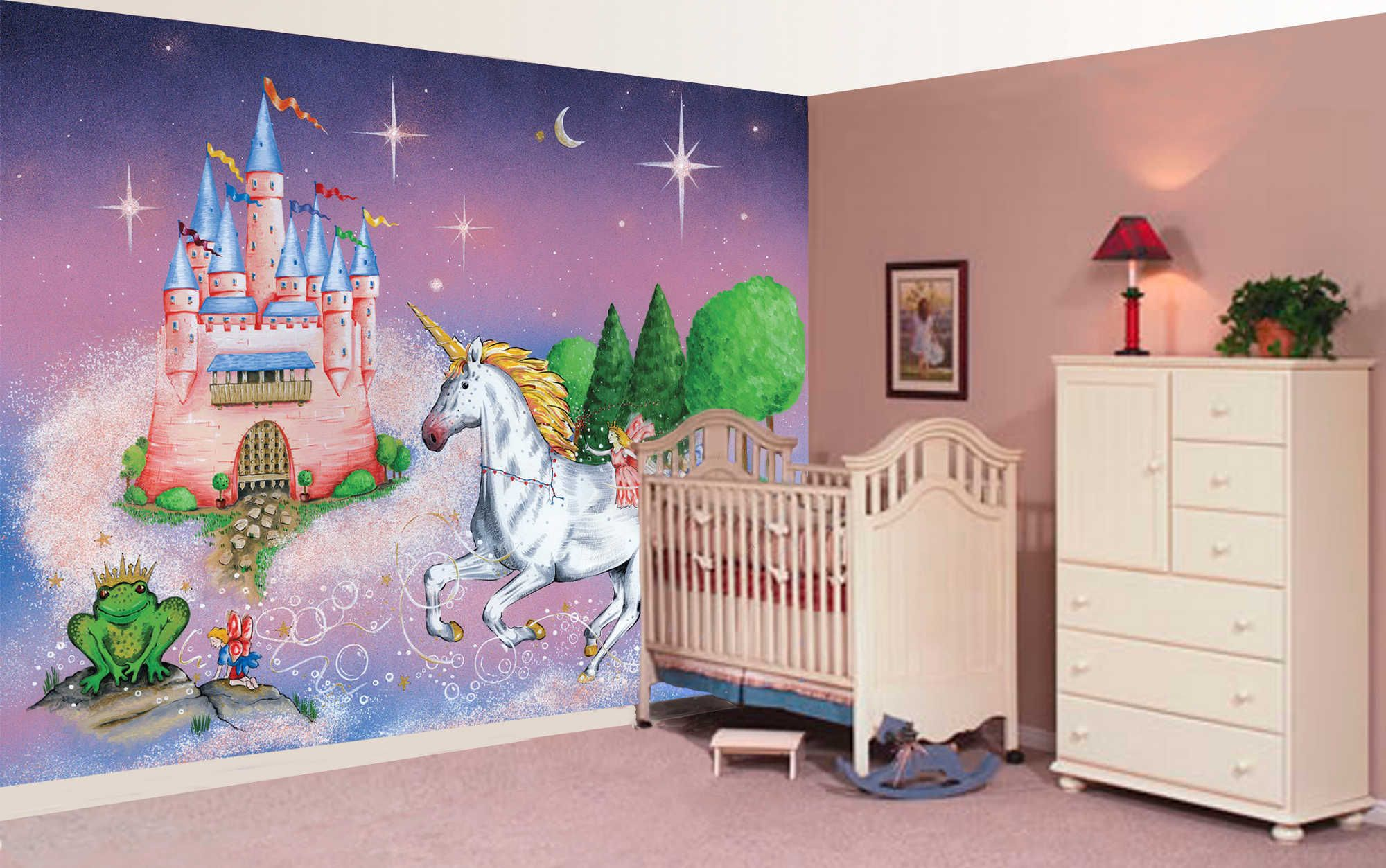 """Mural """"Where is the Princess?"""" A Wallpaper Mural by"""