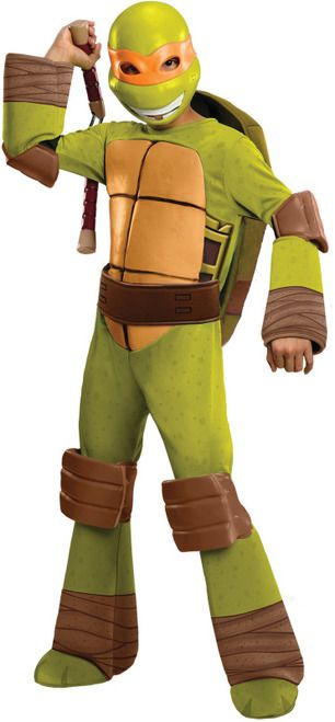 Michelangelo TMNT Boys Costume  sc 1 st  Pinterest & Michelangelo TMNT Boys Costume | Michelangelo TMNT and Turtle costumes