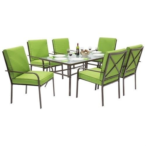 Outdoor Patio Dining Room Sets 7pc