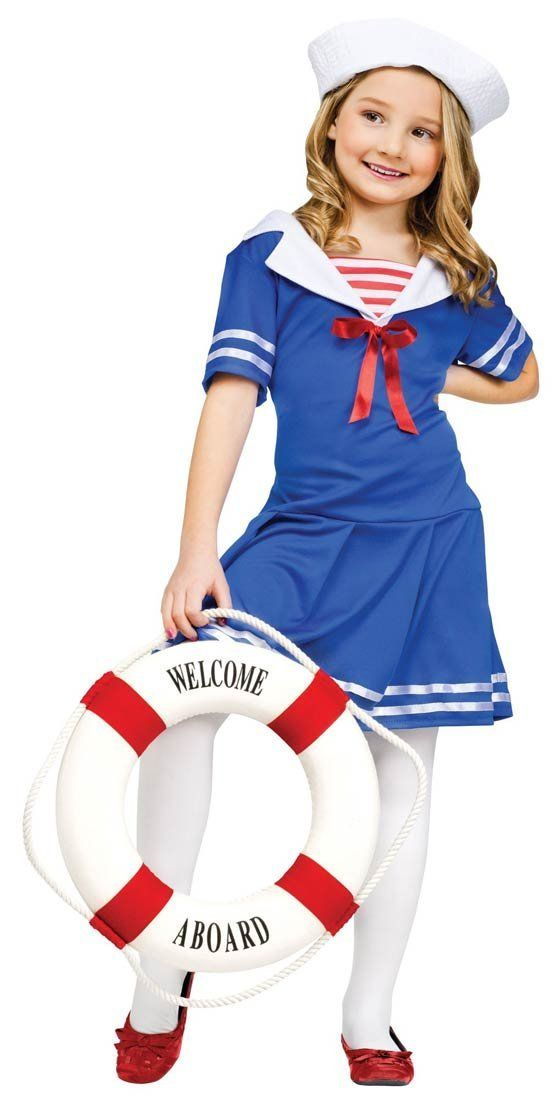 3677d3714 Cool Sailor Costume for girls children kids