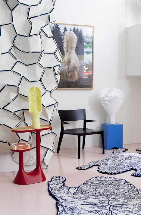 Nice example on how to use our Clouds in a private setting. Read more about Clouds designed by Ronan and Erwan Bouroullec on our website http://kvadrat.dk/products/clouds