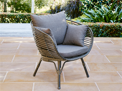 Mimosa Waiheke Deluxe Half Egg Chair Outdoor furniture