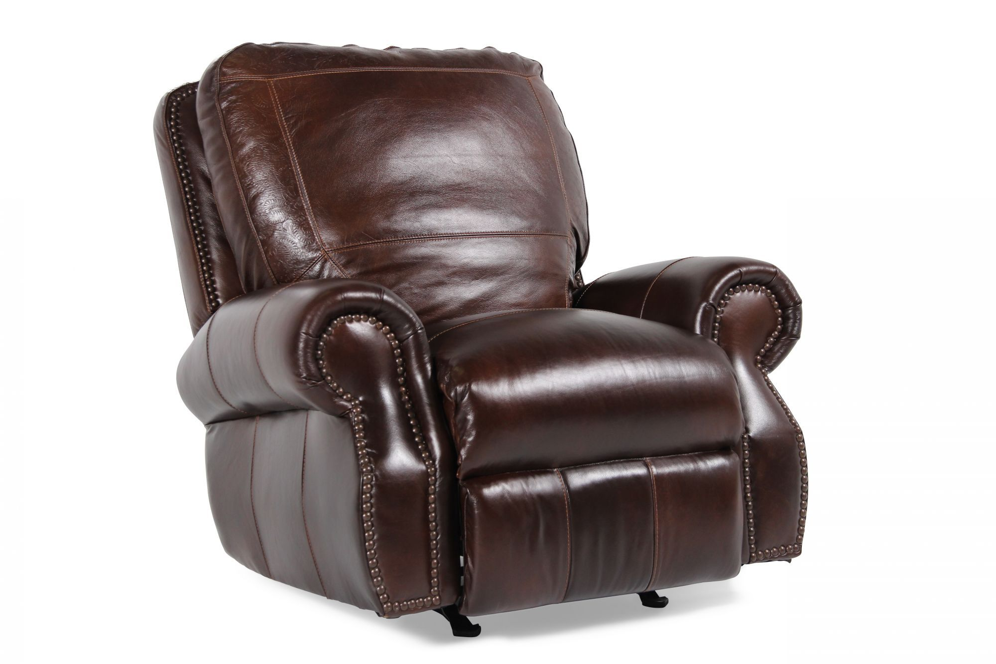 Prime Usa Leather Oak Paisley Leather Recliner Leather Recliner Machost Co Dining Chair Design Ideas Machostcouk