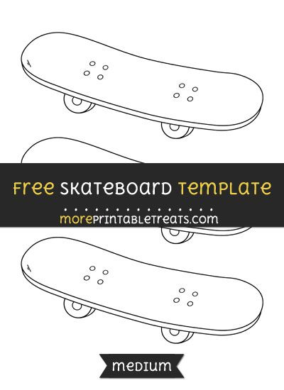 picture regarding Longboard Template Printable titled skateboard template -