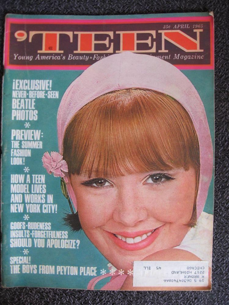 Details About Vintage Teen Magazine April 1965 Beatles