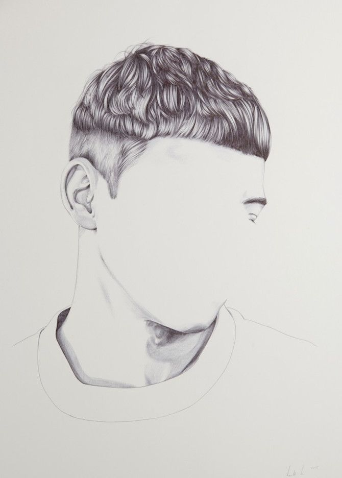 intriguing portraits created without faces white image