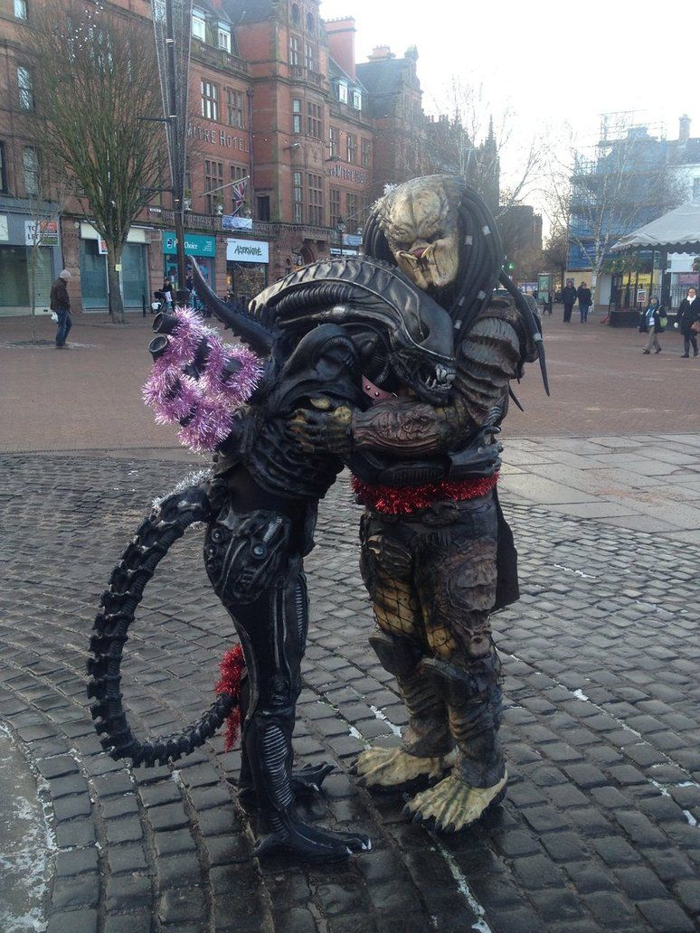 Pedro T. Predator and his friend Abi (aka deviantARTist Rex ...
