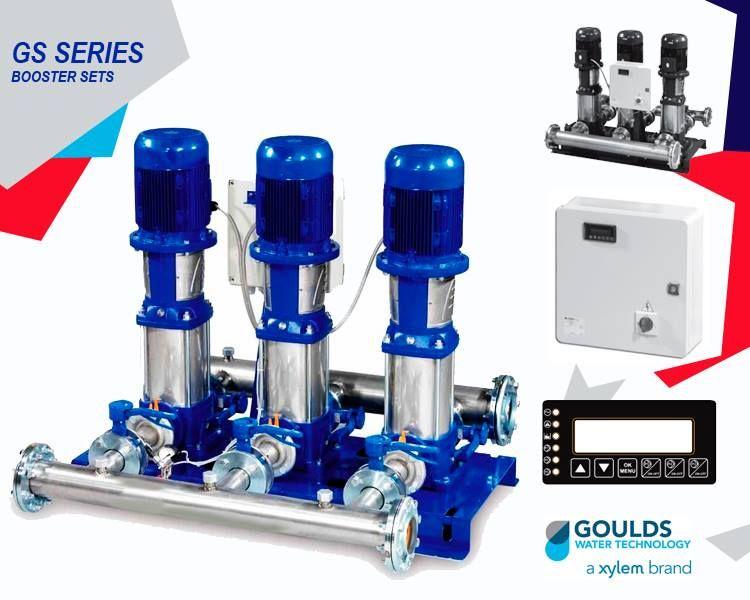 طلمبات و مضخات تعزيز الضغط تتضمن هذه الأنظمة من معززات الضغط حتى ثلاثة مضخات كهربائية وهى معززات ثابتة السرعة ومن خلال هذه Water Treatment Sewage Pumps Booster