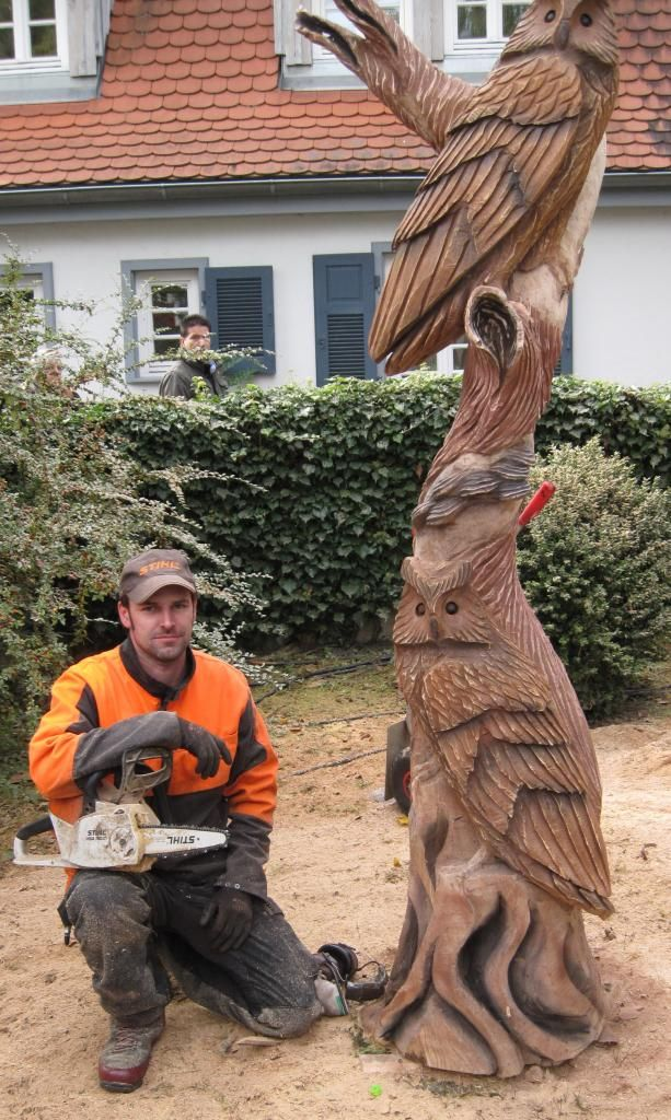 Photo img g chainsaw carving pinterest