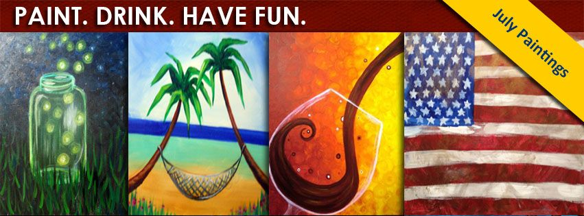 "SYMPHONY - Pinot's Palette is the upscale ""Paint. Drink. Have Fun."" destination in St. Louis where anyone can be a Picasso. No art experience required! In two or three hours you can create any number of our festive, whimsical and pretty paintings.  Pinot's Palette - Chesterfield has a bar for you to purchase your beer and wine.  Feel free to bring your own snacks and food to enjoy while painting!"