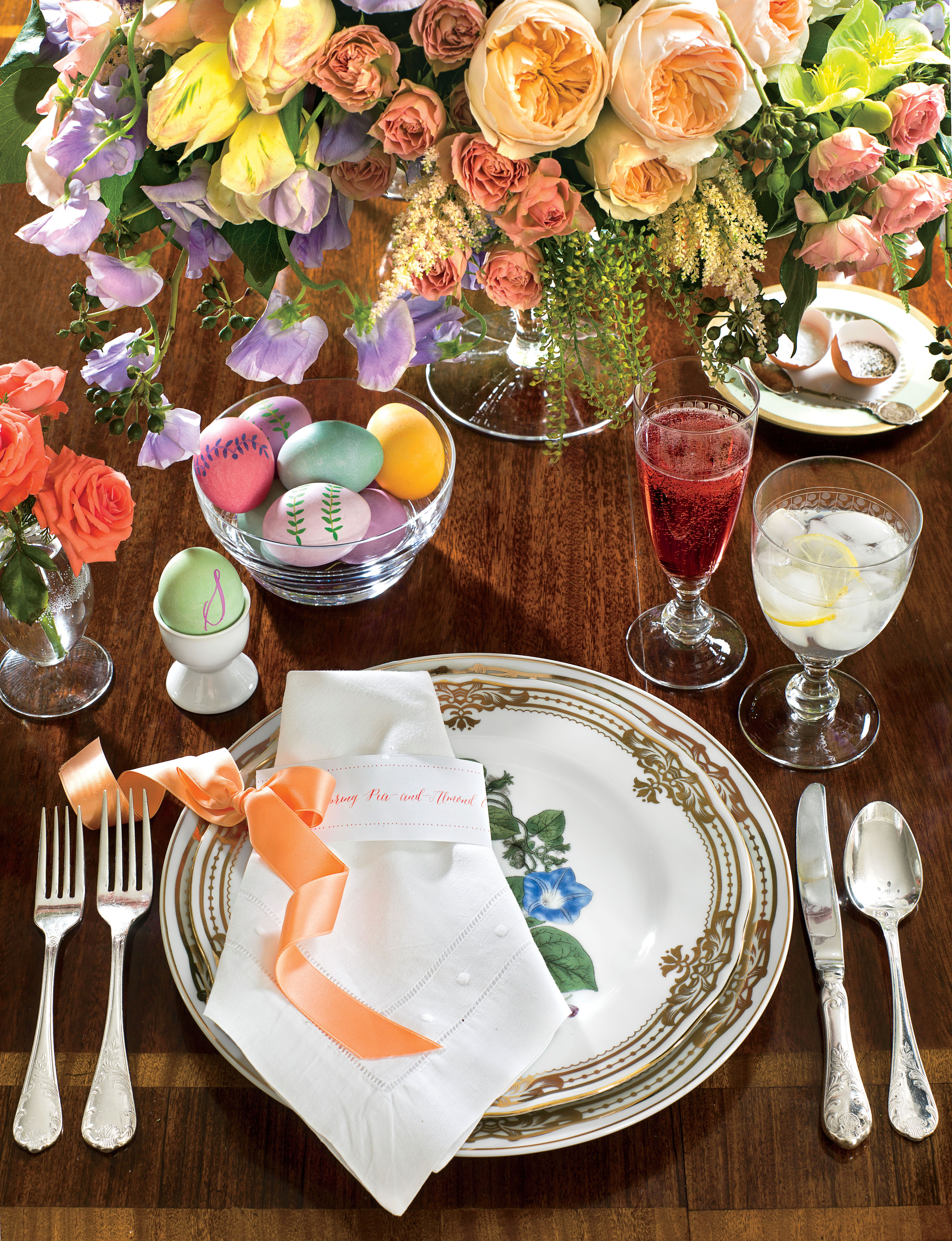 Candy-Colored Easter Table & Candy-Colored Easter Table | Table setting | Pinterest | Easter ...