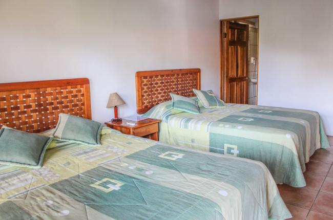Queen size beds Agua Dulce Resort Playa Preciosa, near Puerto Jimenez Osa Peninsula, Costa Rica #fun #vacation