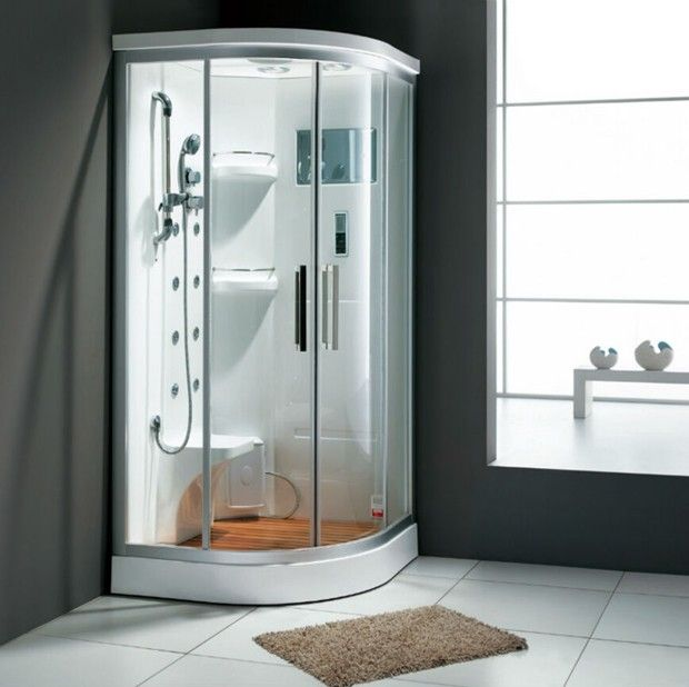 Shower Stall Kits With Seats Shower Stall Bathroom Design Small
