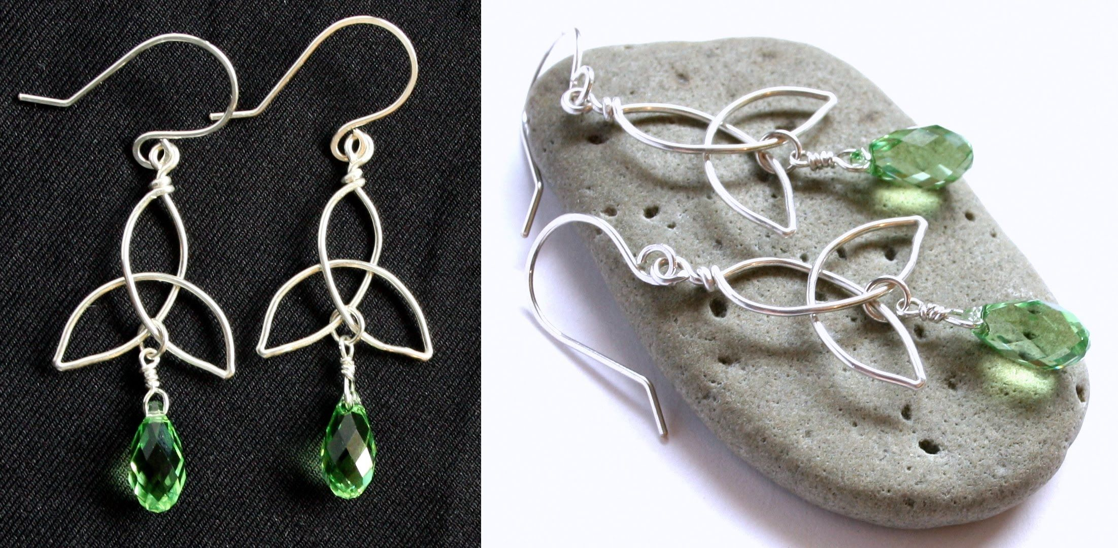 How to Make a Celtic Knot Charm : Easy Wire Wrapped Jewelry Tutorial ...