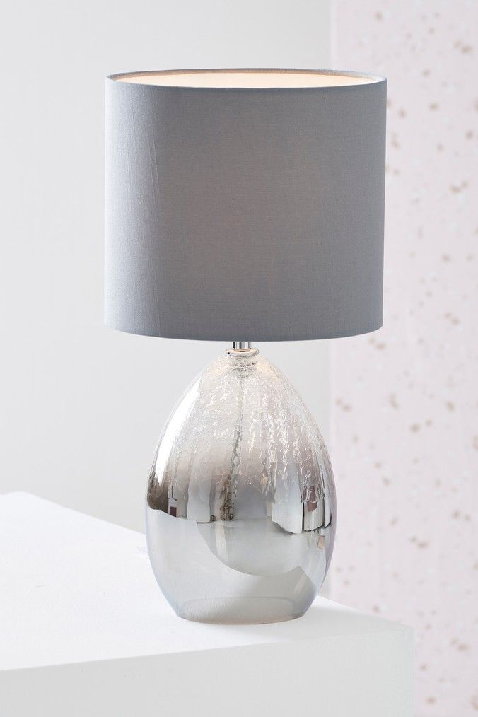 Next Isla Ombre Table Lamp Grey In 2019 Grey Table Lamps