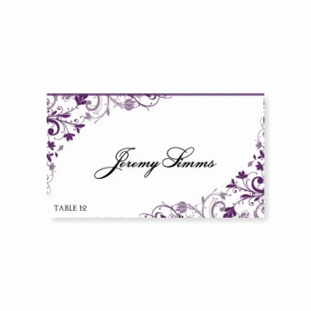 Microsoft Word Place Card Template Luxury Instant Download ...