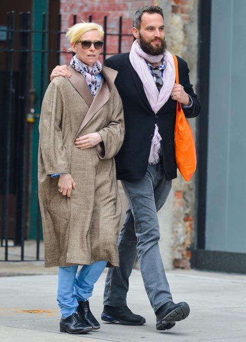 Tilda Swinton Height Weight Body Statistics Healthy Celeb Tilda Swinton Stylish Couple Sandro