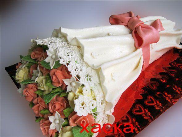торт букет цветов из мастики фото перебирать
