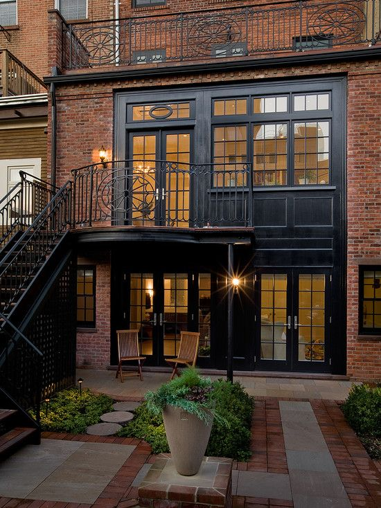 Traditional Brownstone Design Ideas Pictures Remodel And Decor House House Exterior House Design