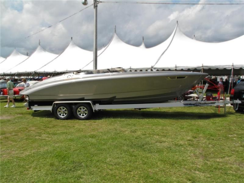 Fearless Yacht By Porsche Design Fearless 28 Power Boat In Powerboats Motorboats Ebay Motors Bad