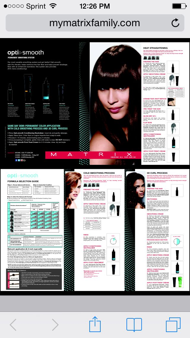 Opti Smooth Instructions Hair3 Pinterest Smooth