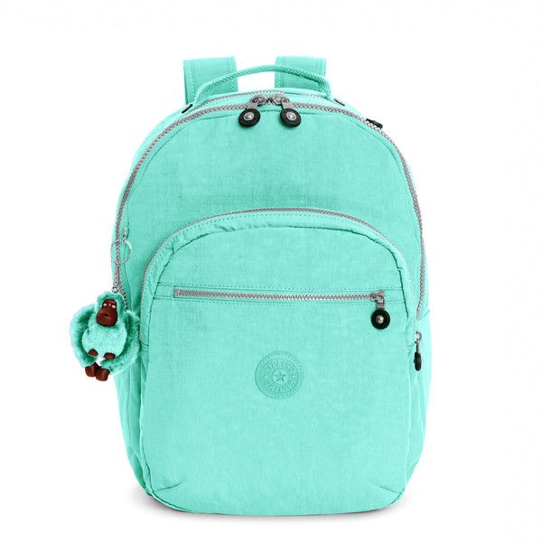 Kipling Seoul Large Laptop Backpack ($114) ❤ liked on Polyvore featuring  bags, backpacks