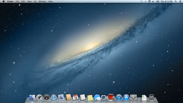 Mac OS X Mountain Lion Wallpaper. Very Nice.