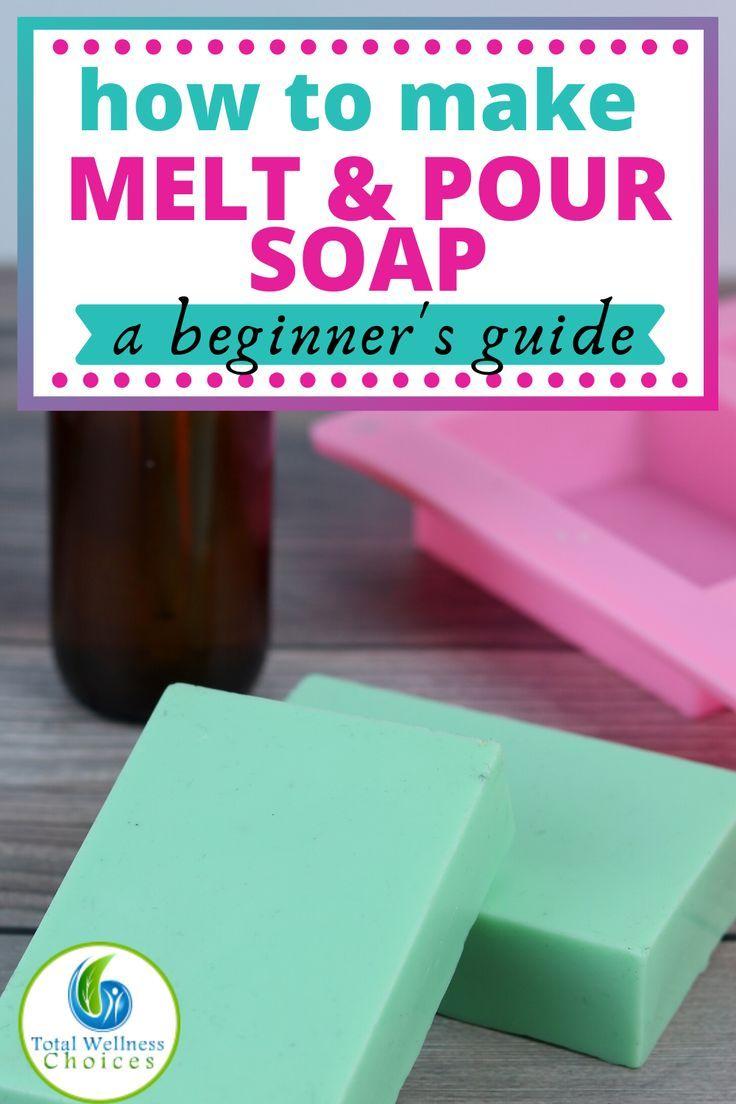 melt lye soaps