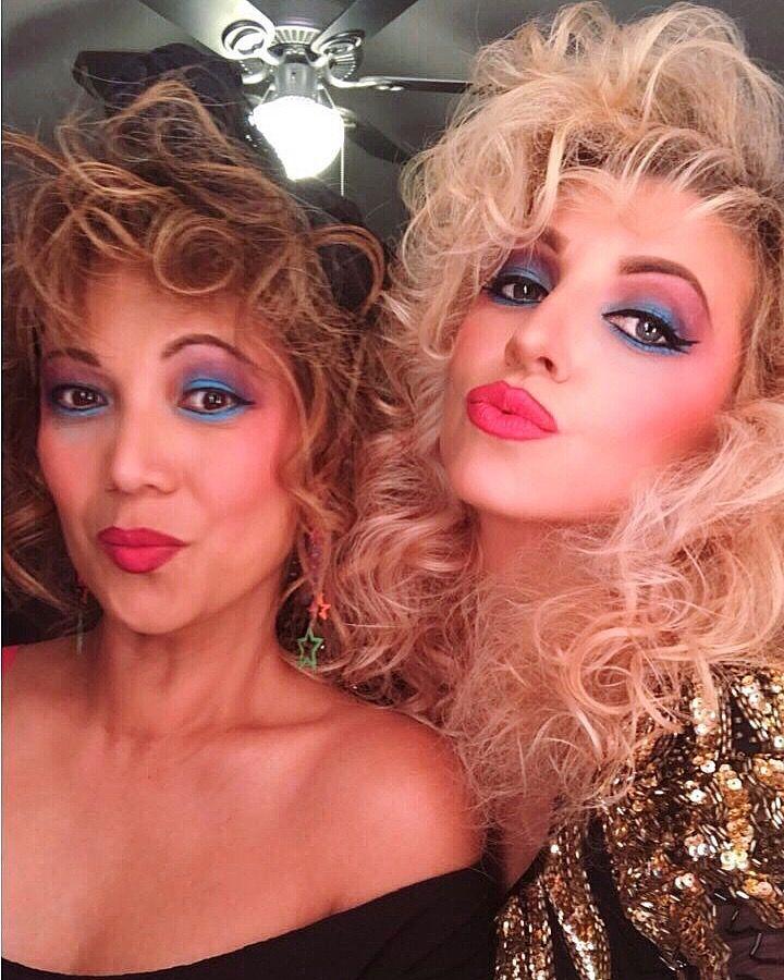 80s Makeup By Irina Bilka 80s Makeup 80s Eye Makeup 80s Party