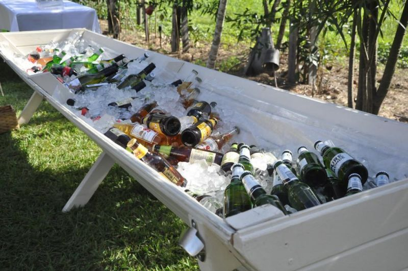 Rustic Drinks Trough FOR HIRE