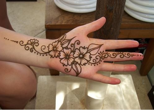Mehndi Designs For Palm : Simple mehndi designs step by beauty health fashion