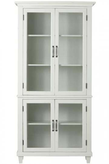 Martin Glass Bookcase Great For Storing Fabric Dust Free