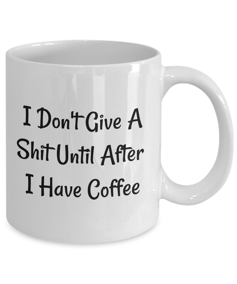 Funny Offensive Inappropriate Gift For Coffee Lovers Mug